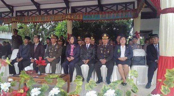 Tampak foto Walikota Kotamobagu Hadir Dalam Upacara Peringatan Pancasila 1 Juni 2017