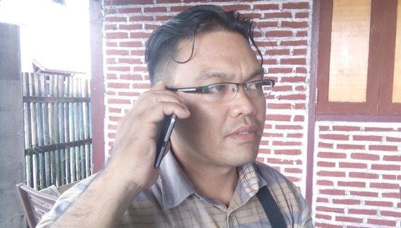 Irawan Damopolii, SH selaku Sekertaris Umum LSM LP3T Bolmong Raya