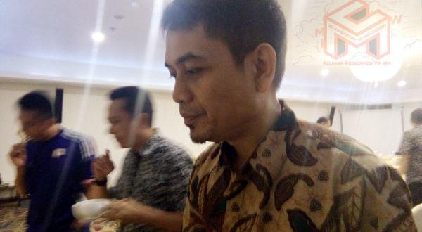 Sekertaris KPU Kotamobagu, Frans Abo Tuto Manoppo, S.Sos