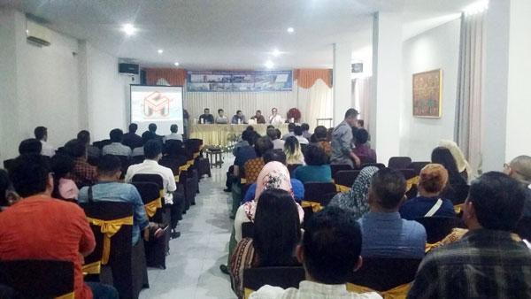 rapat technical meeting yang digelar oleh PT. Tiara Rayhana Ratu Selmina, dengan ke- 42 perusahaan penyedia jasa kontraktor dalam pembangunan RS Internasional Type A dan Universitas BMR