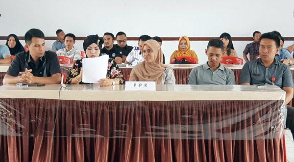 Rapat Evaluasi Input Data Coklit PPDP