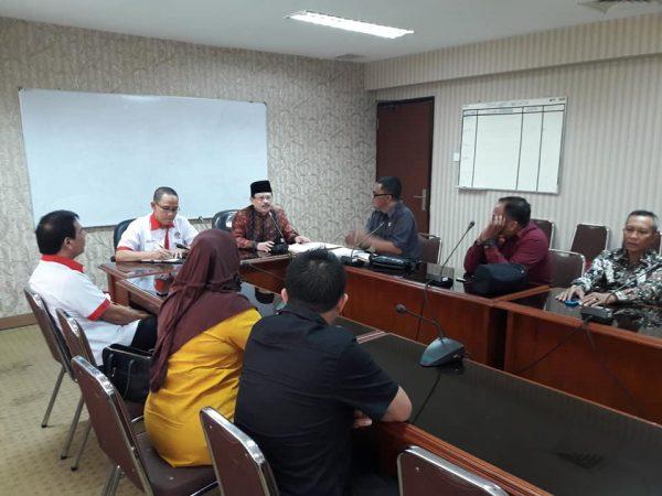 DPRD Kotamobagu saat melakukan Kunker ke Kementrian Pemuda dan Olahraga RI