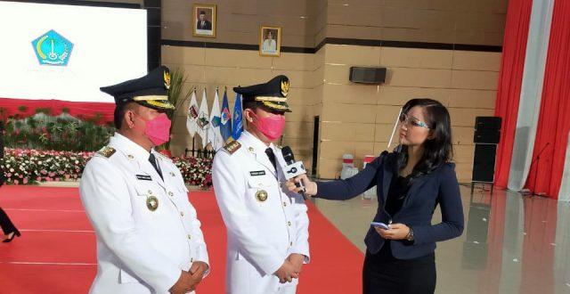 Dilantik Gubernur, Iskandar-Dedy Resmi Jabat Bupati dan Wakil Bupati Bolsel